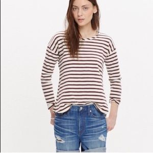 Madewell Oversized Striped Longsleeve